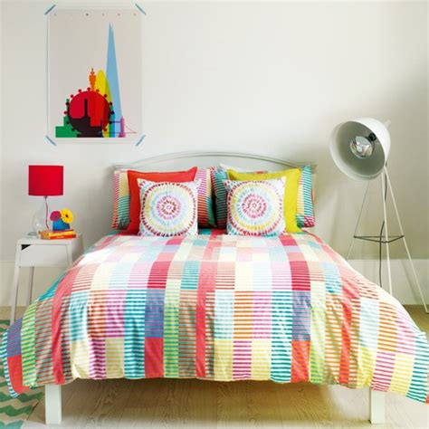 candy bedroom create a bright bedroom scheme with candy colours