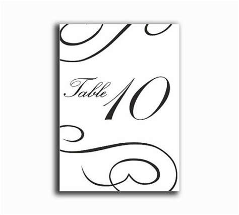 printable elegant numbers printable table numbers diy instant download elegant