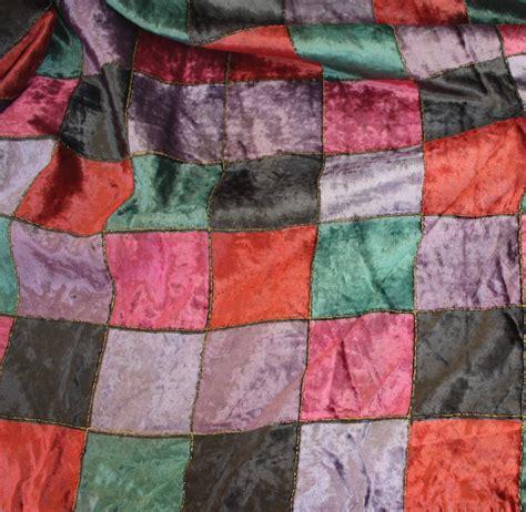 Velvet Patchwork - patchwork velvet cloth connection