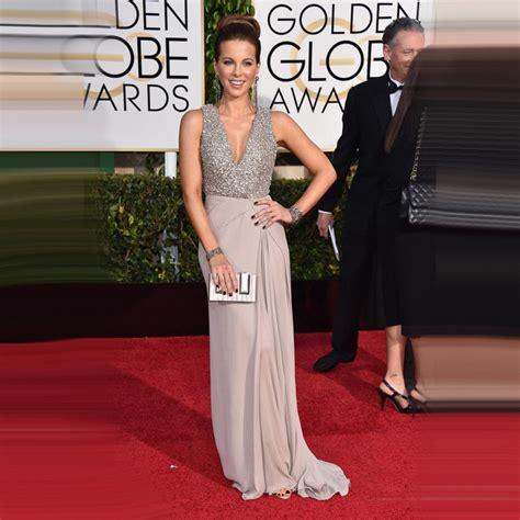 Carpet Dresses by Golden Global Academy Awards 2015 Oscar Chiffon Beaded