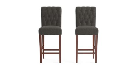 Leather Bar Stools Set Of 2 by Buy Espen Leather Bar Stool Set Of 2 In Australia