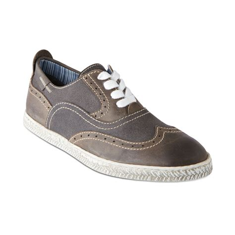 wingtip sneakers steve madden henry wingtip sneakers in gray for grey
