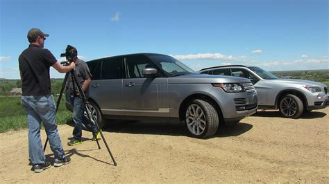 2013 range rover vs bmw x1 mile high 0 60 mph mashup the