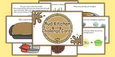 Mud Kitchen Labels Mud Kitchen Display Banner Mud Kitchen Display Banner