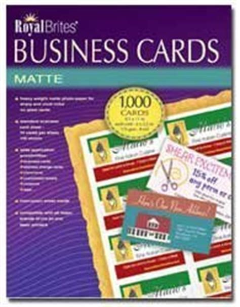 Royal Brites Business Cards
