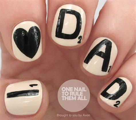 dads upholstery nails one nail to rule them all fathers day nail art for avon