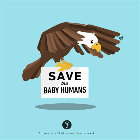 baby saves save the baby humans eagle for