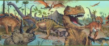 Blue mountain wallcovering dinosaur world border camo green search