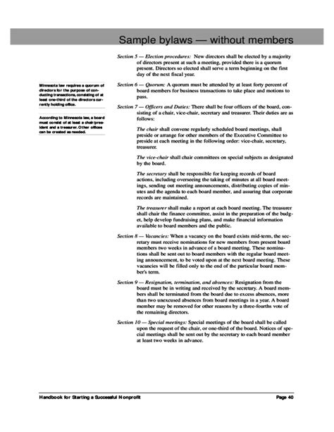 bylaws template free bylaws corporate bylaws document free corporate