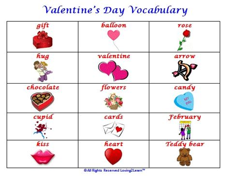 s day vocabulary www loving2learn