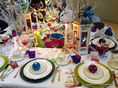 christmas luncheon decorating ideas table decorations