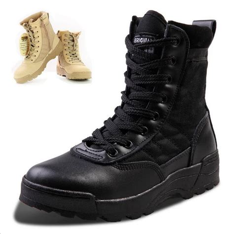 big mens work boots boots big size 38 45with high help outdoor climbing