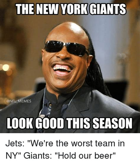 giant meme the new york giants memes look good this season jets we re