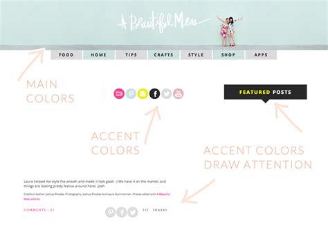 blogg design uten header blog design color tips angiemakes com