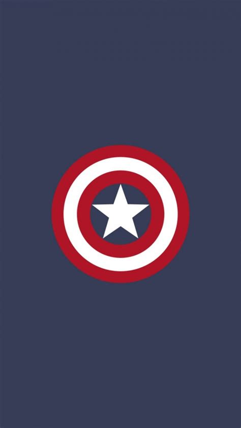 wallpaper iphone 5 flat captain america flat logo iphone 5 wallpaper hd free