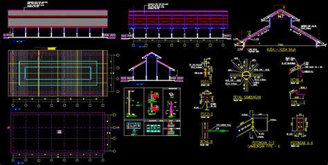 Baja Ringan Konstruksi Pabrik kotakcad desain konstruksi baja pabrik desain konstruksi