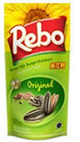Kuaci Rebo Greentea gumindo