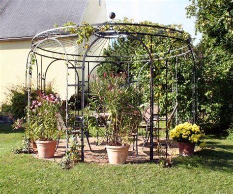 Gartenpavillon Eisen Rund