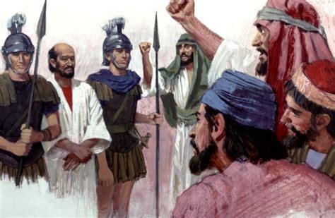 el complot contra los pablo se dirige a amotinados en jerusal 233 n defensa ante el
