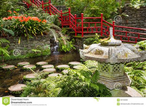 Garden Decoration Pictures by Pond And Garden Decoration In Style Monte Palace