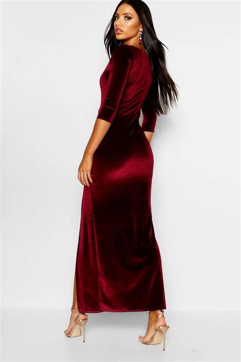 Sleeve Velvet Dress sleeve velvet dress all dress