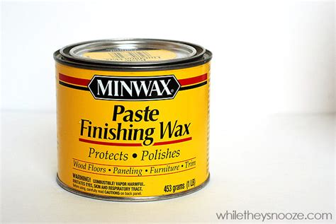 diy chalk paint paste wax while they snooze how to make chalk paint