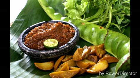 makanan khas sunda rm nasi liwet youtube