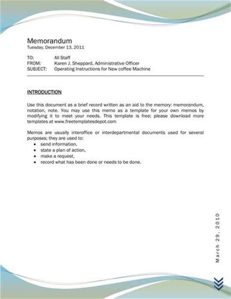 memo format professional memo format customer handout
