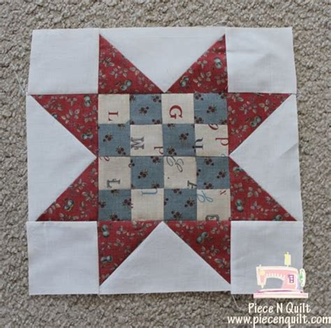 n quilt quilt sawtooth 16 patch
