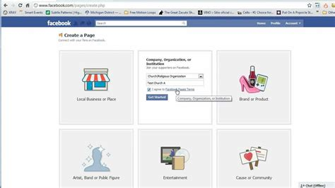 create a fan page on facebook without a profile create a church facebook fan page august 2011 youtube