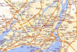Canada Map Montreal Quebec by Montreal Map