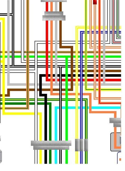 suzuki gs   uk spec  colour wiring harness diagram