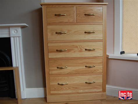 Handmade Chest Of Drawers - handcrafted to measure oak bedroom 4 2 chest of drawers