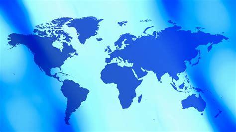 map background title world map blue background 4k motion background