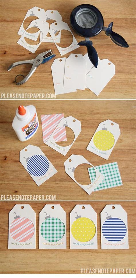 How To Make Paper Tags - diy 51 seriously adorable gift tag ideas 2212614 weddbook