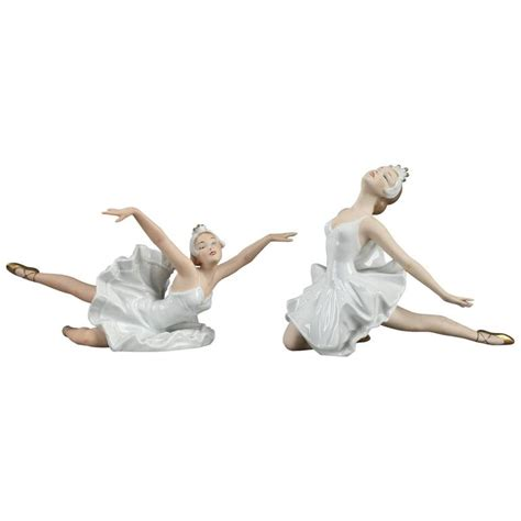ballerina l for sale pair of ballerinas in wallendorf porcelain for sale at 1stdibs