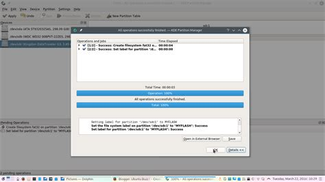 format hard disk by mistake how to use kde partition manager to format usb drive