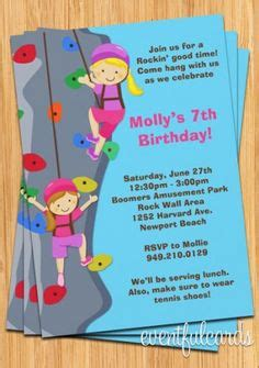 Birthday Cards For Wall With 1000 Images About Hazel S 7th Rock Climbing On Pinterest