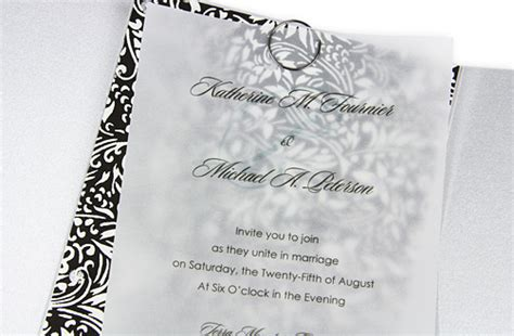 Printed Wedding Invitations Velum by Writing For Designers Velum Paper