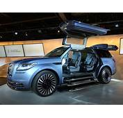 Lincoln Navigator Concept Puts The SHOW Back In Show Car