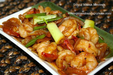 Minyak Goreng Dua Udang udang goreng mentega enak dan mudah resep masakan dapur arie