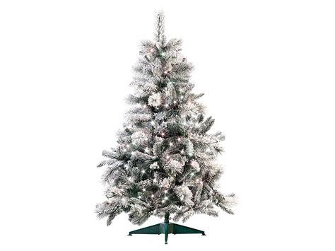 infactory k 252 nstlicher weihnachtsbaum im schneedesign 180