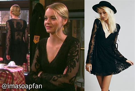 Days Of Our Lives Wardrobe by I M A Soap Fan Brady S Black Lace Dress Days Of Our Lives Season 51 Episode 12 02 15