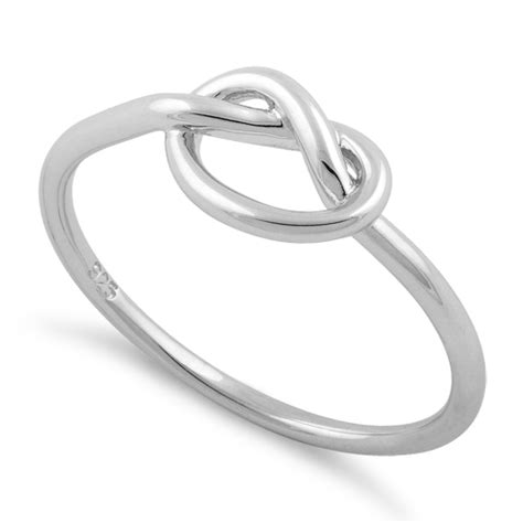 Sterling Silver Knot Ring sterling silver knot ring for sale 70