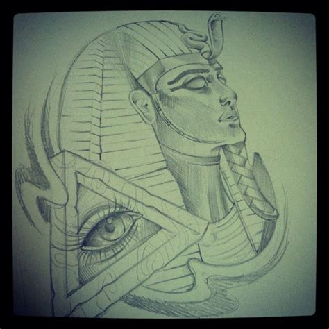 egyptian king and queen tattoo collection of 25 designer hair sketch
