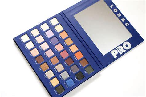 Lorac Mega Pro Pallete lorac mega pro palette 2 review for pigmented hyper