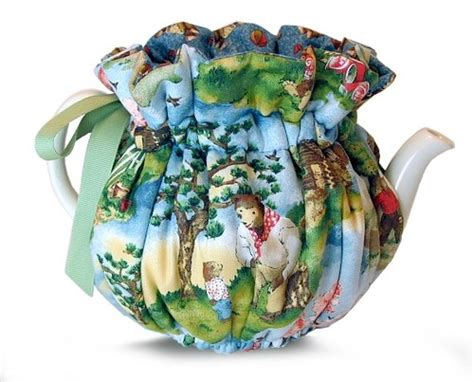 pattern quilted tea cozy tea cozy quot the three bears quot 6 cup by thistledown cozies