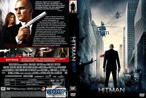 Hitman Also Search For Hitman 47 Dvd Cover 2015 R2 German Custom