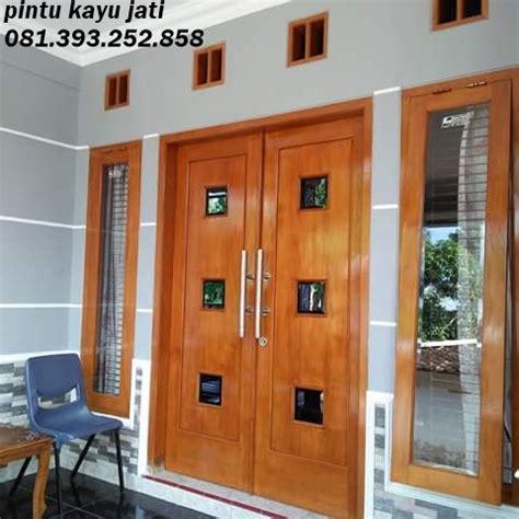 Kusen Pintu Model 6 harga pintu kayu jati tua mbarepjati 0813 9325 2858