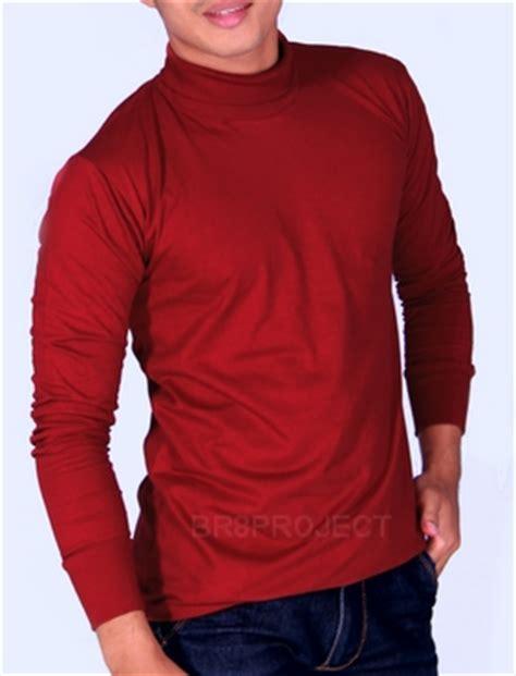 Kaos Dickies Tangan Panjang 02 1 turtleneck merah marun kaos murah bandung